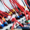 Anilha de identificação de cabos